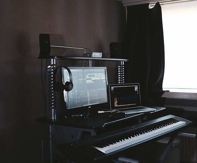 Piano on Computer